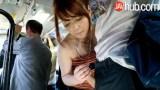 Japon kız otobüste alıyor