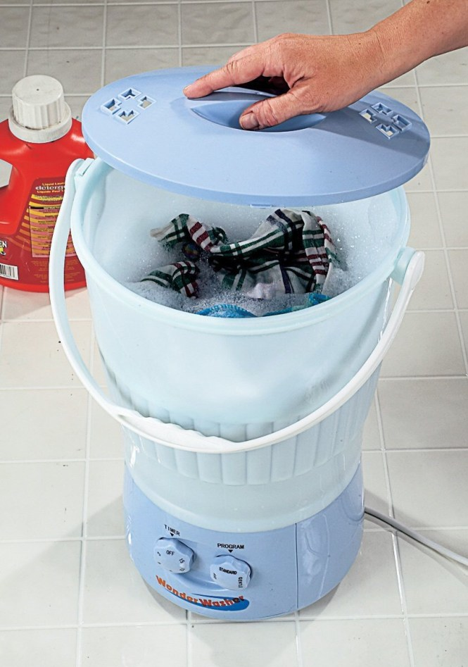 Washing Cloth Diapers In Portable