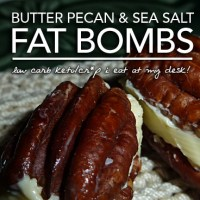 Butter Pecan Fat Bombs - Cr*p I Eat at My Desk