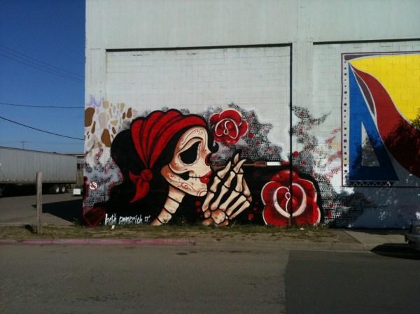 Inspiration West Oakland Mural Fluffy Jo' Journal