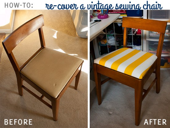 antique sewing chair fold up chairs bed bath and beyond how to recover a vintage fluffyland craft blog re cover