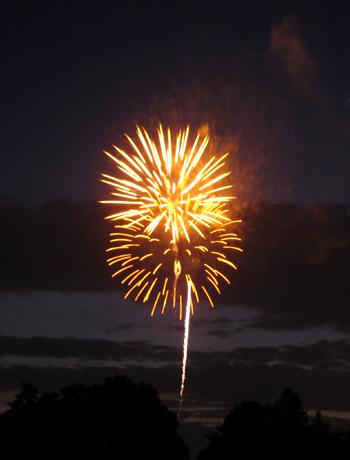 pre-4th fireworks