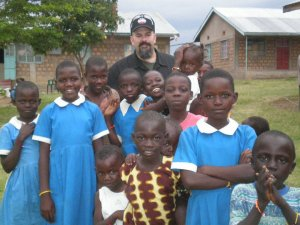Working with orphans in Kenya
