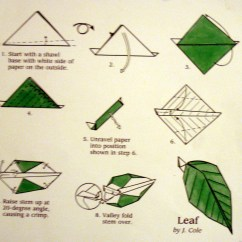 Origami Diagram Com Bryant Electric Furnace Wiring Leaf Major Project Design