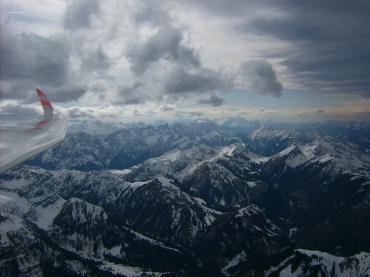 Wellen und Wolken im Karwendel