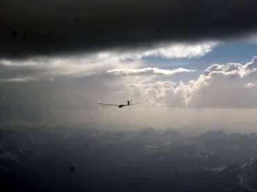 ...auf dem Weg zu seinem ersten 1000 km-Flug