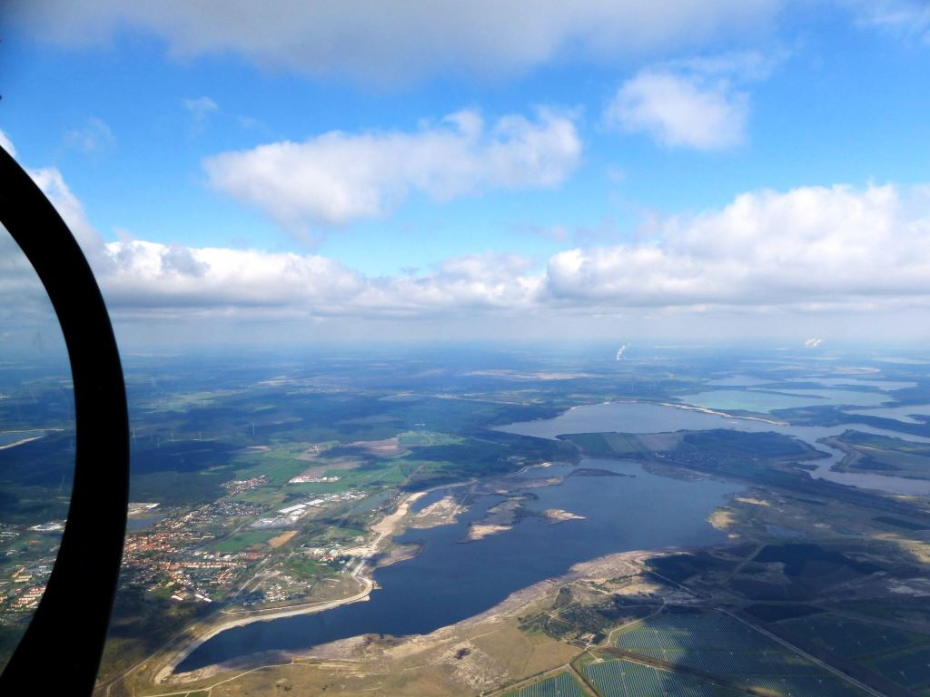 Herrliche Aussicht aus 1700m Höhe