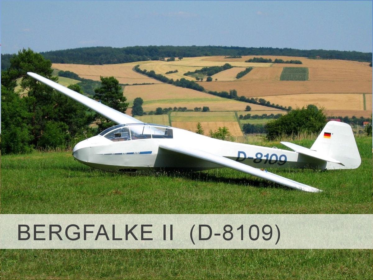 Bergfalke II D-8109 Template