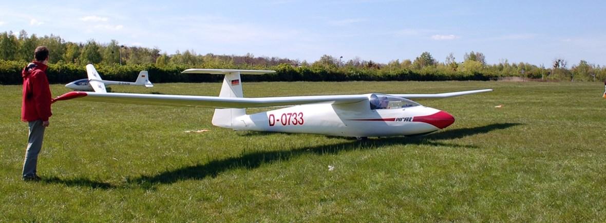 SZD-30 Pirat D-0733 in Oschatz