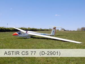 Astir CS 77 D-2901 Template