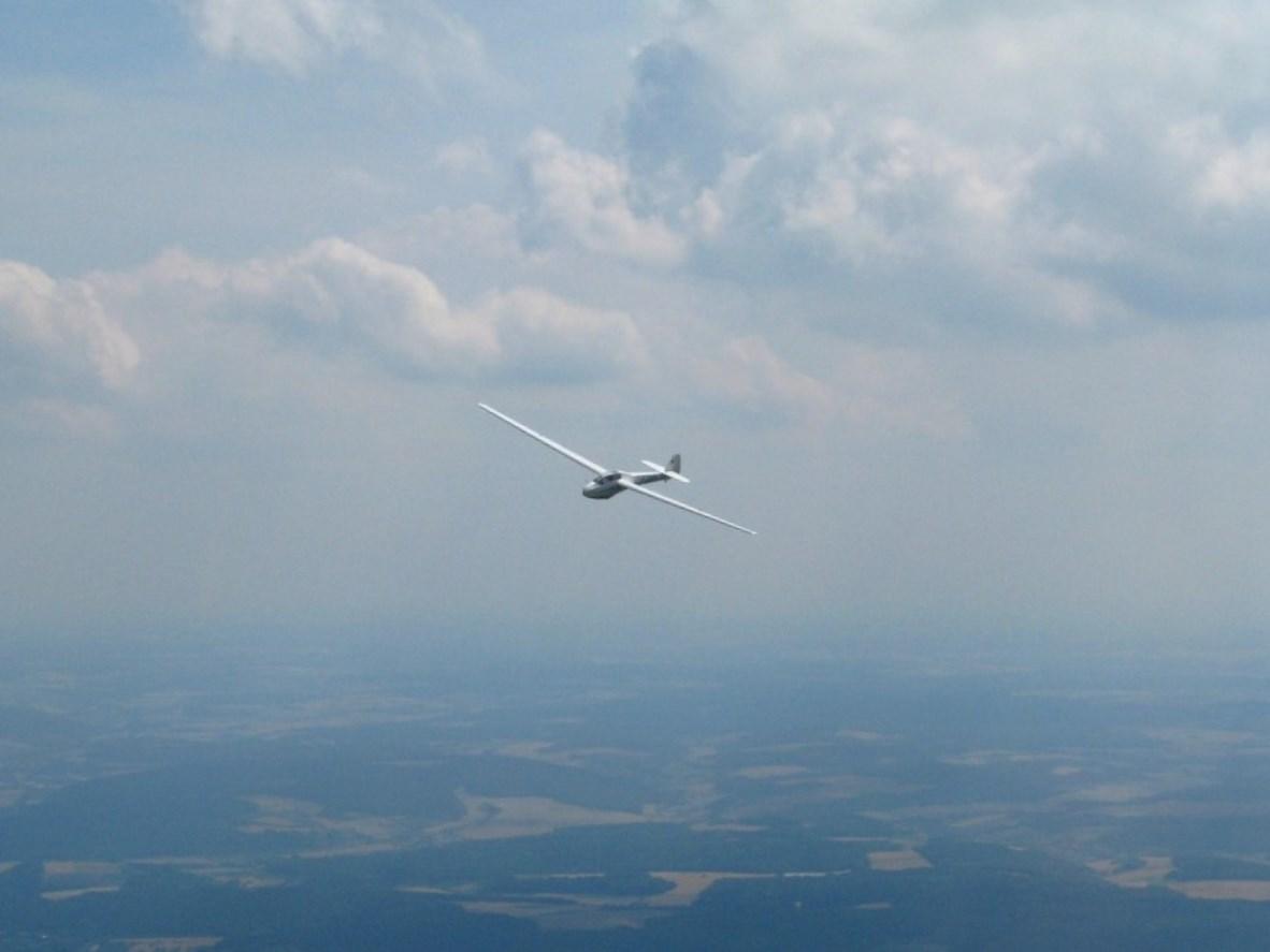 Bergfalke II D-8109 Flug