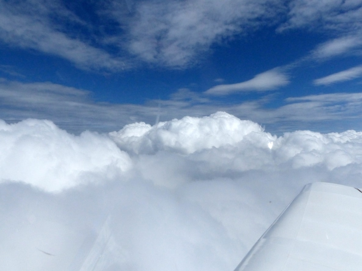 Wolken über Dessau