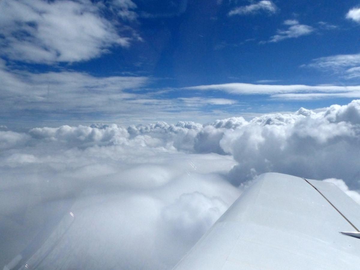 Wolken über Lutherstadt-Wittenberg