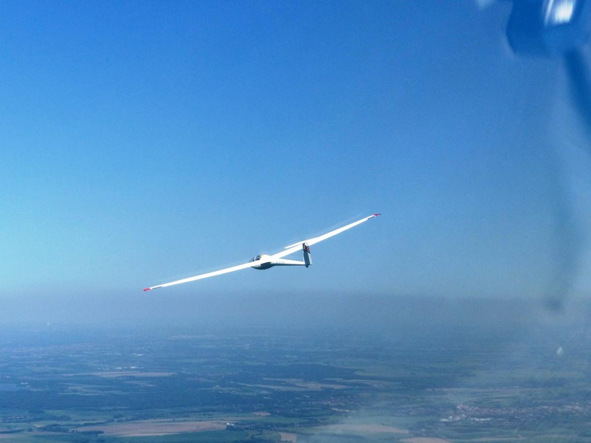 DG-100 D-3775 Streckenflug