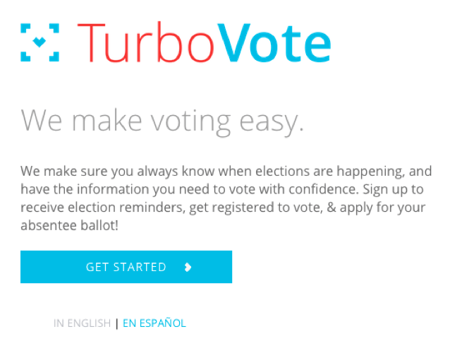 Turbo Vote Snapchat