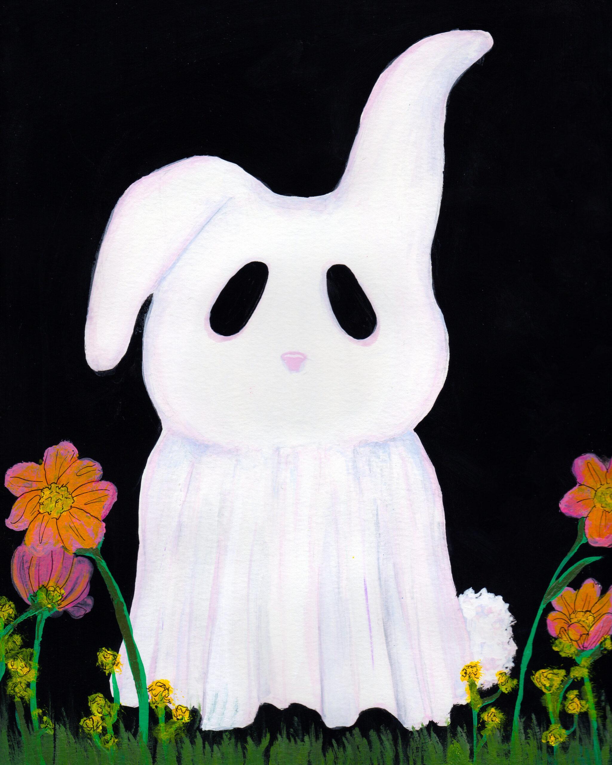 ghost bunny