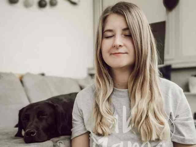 bindung-hund-meditation-mindset