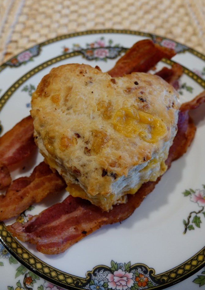 Jalapeno, Cheese and Bacon BiscuitsA Texas Ranch Recipe