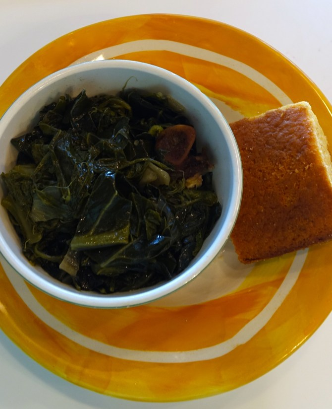 Down Home – Southern Style Collard Greens