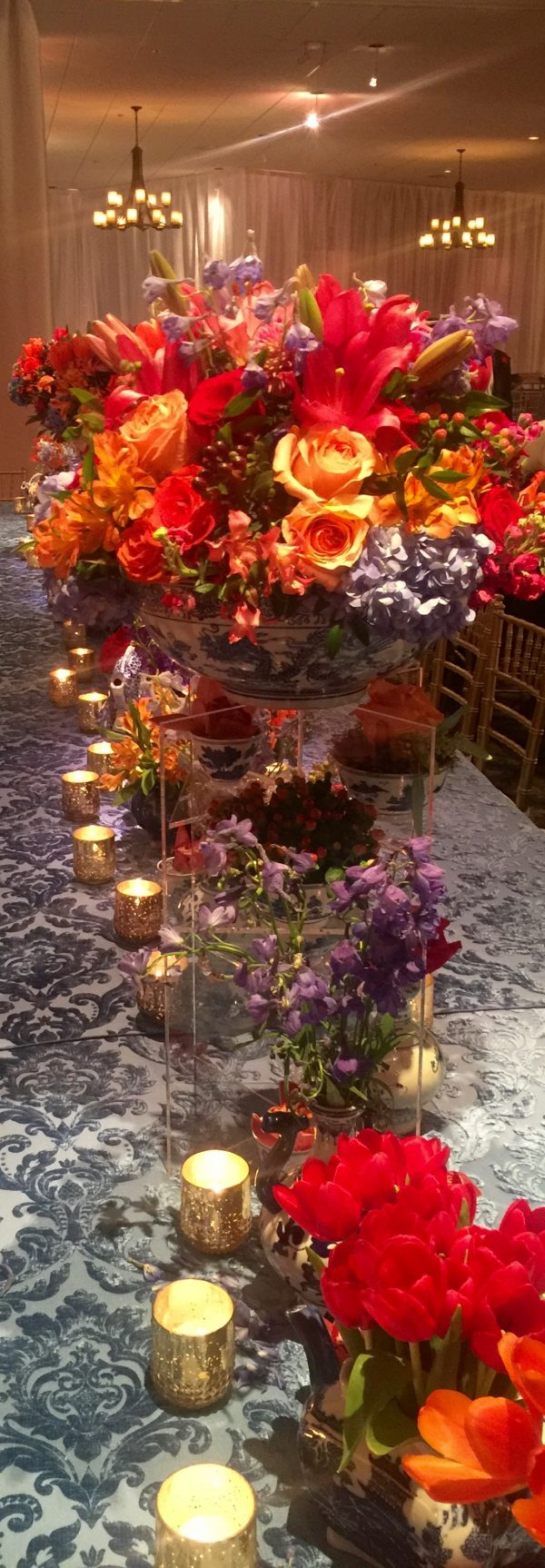 Decorating with Flowers ~ For A Grand Party