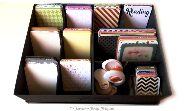 Tjena Journaling Card Storage
