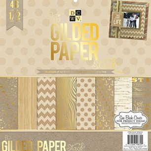 The Gilded Paper Stack