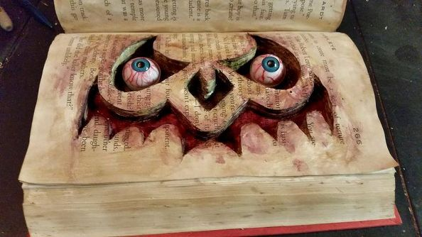 haunted-book-crafts-halloween-decorations