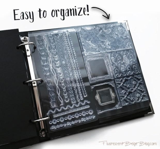 Stamp Binder Easy to Organize