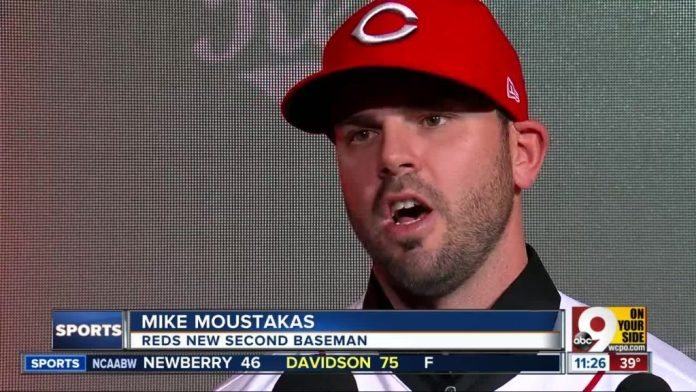 Mike Moustakas reds
