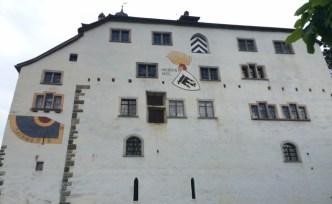 Schlossfassade.