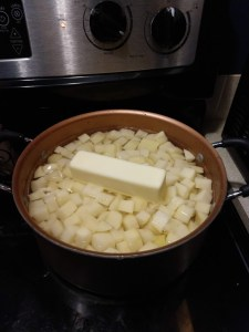 Easy old fashion potato soup