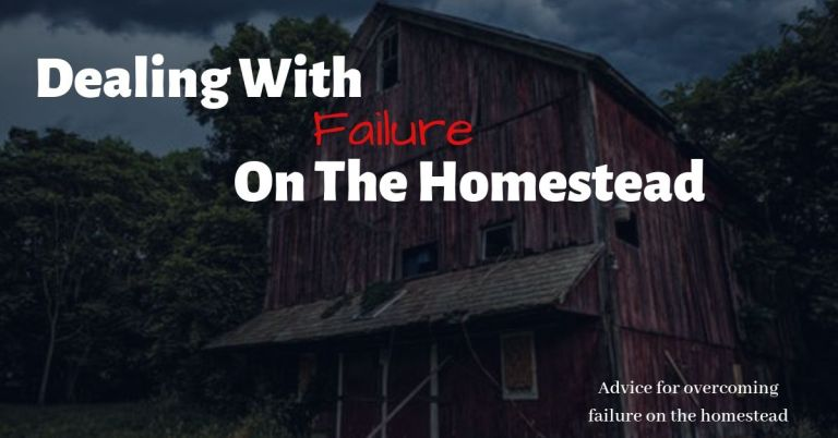 Failure On The Homestead