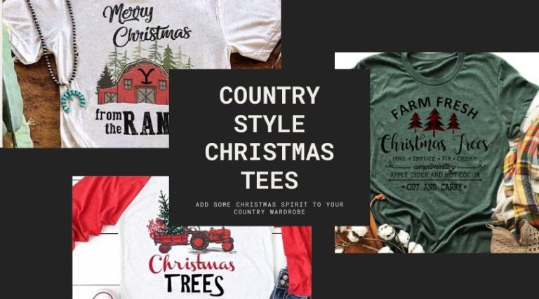 Country Style Christmas Tees