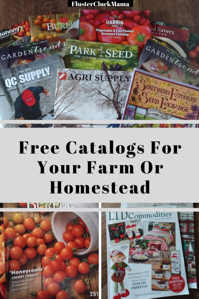 Free Catalogs For Your Farm Or Homestead