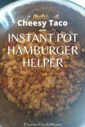 Instant Pot Hamburger Helper