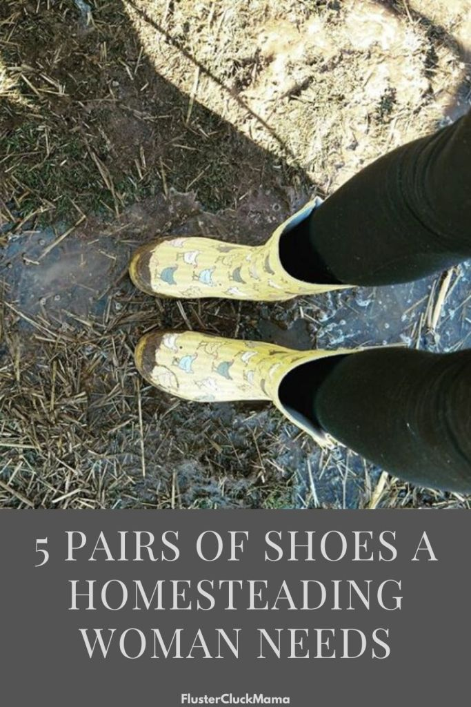 Shoes For Homesteading Women