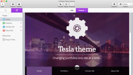 Image result for Tesla Theme