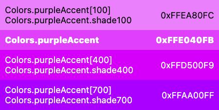 purple constant colors class