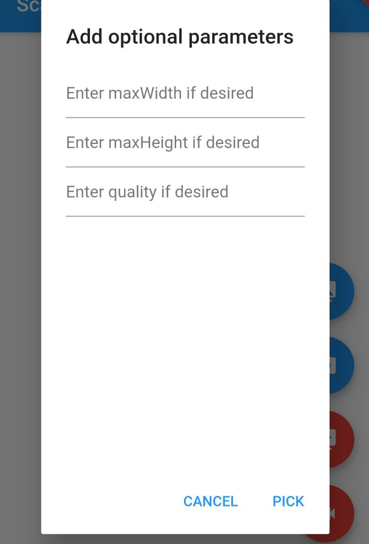 Dialog Button