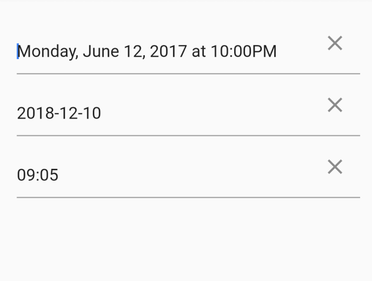 Date-Time-Picker