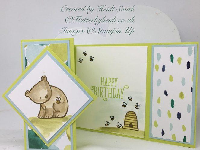 Landscape fold back card by flutterbyheidi