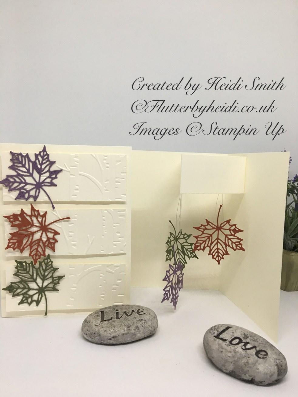 Falling leaves card by Flutterbyheidi