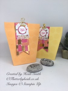 Pretty Angled gift bag by flutterbyheidi