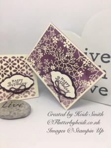Detailed with love quick card by Flutterbyheidi