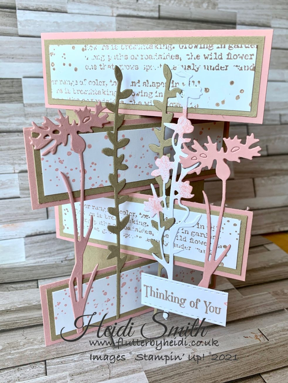 Tower flap card