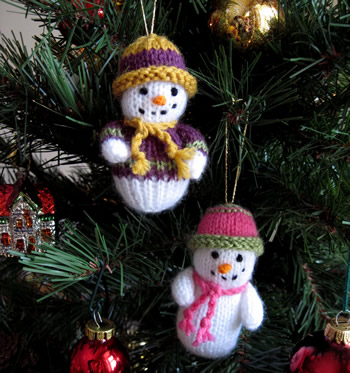 Knitting Patterns For Christmas Decorations Uk