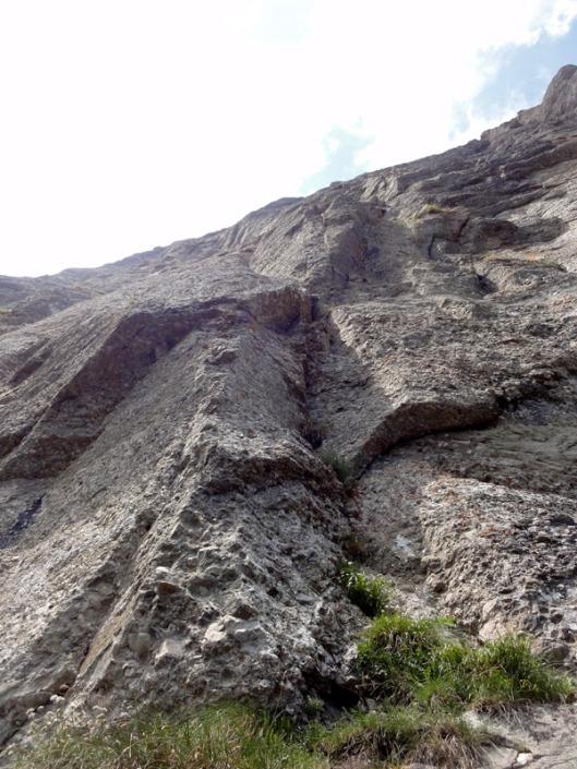 traseul Innominata, alpinism în Bucegi