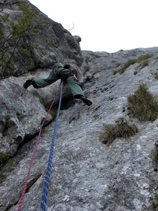 alpinism Piatra Craiului, Canionul Cioranga Mare