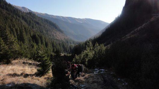 traseu refugiul caltun, muntii fagaras