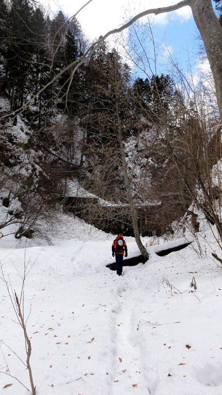Valea lui Stan, mai jod de barajul Vidraru